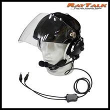 Helmet Headset Noise Cancelling for Aviation Pilot