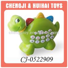 Spanish language plastic dinosaur talking animal toys