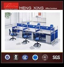Latest modern design wooden standard office partition HX-9430
