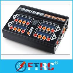 HYPE RC TREME CHARGER X200 QUATTRO quad battery Charger for NiMH/NiCD/Li-PO/Li-Fe/SLA