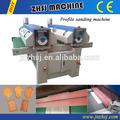mdf desktop máquina de lixar para a pintura ou estratificação filme