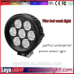 High intensity chips 70w led work bench light , 12 volt led work lights for boat lightings