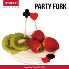 D598 Be Suitable for party fruit/plastic fork wholesale party supplies plastic pick with fine workmanship