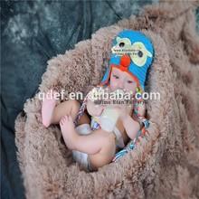 Wholesale best selling handmade crocheted owl baby hats,crochet animal hats manufacturer