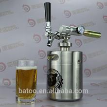 64OZ stainless mini keg stella artois beer in can