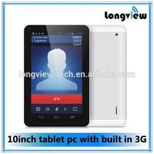 andriod MTK8382 tablet quad core 3G phone call 10 inch mid1GB/8GB FM GPS Bluetooth 1.3GHZ