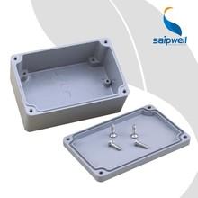 SAIP/SAIPWELL Diecast Aluminium Enclosure IP65 Aluminium Colour 125*80*58 MM