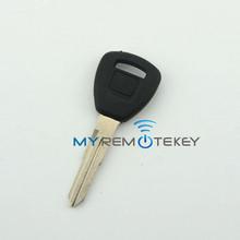 Transponder key HON58R with blade for honda id46 chip