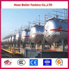Q345R horizontal ground 150m3 lpg storage tank price