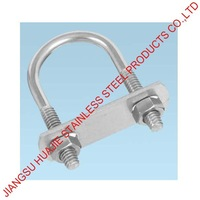 M16 AISI 18/8 304 ROUND U BOLT FOR PIPE