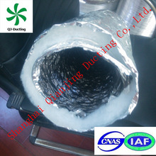 excellent resistance to chemicals flexible insulation air duct with vapor barrier