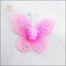 artificial wedding accessories decorative bridal silk butterfly