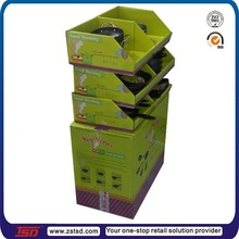 TSD-C603 cardboard display stand/ e paper display stand for pans