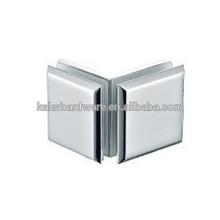 ss 304 shower door hinge,glass connector,bathroom partition brace double side,,K-902