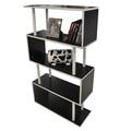 diseño popular de muebles de madera de fotos estantes
