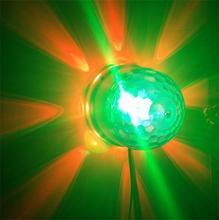 Rich and splendid color 3w LED Sun Light Plus Magic Ball