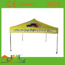 Aluminum folding tent with 40mm Hexagonal Leg
