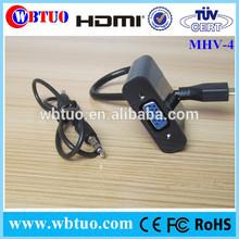 Mini HDMI To Vga Cables with video support Mini HDMI To Vga audio Adapter