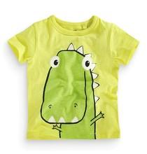 ICT 5134 baby boy short sleeve T-shirt An Apple A Day