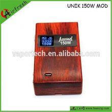 Caixa de madeira mod Unik istick Luxyoun nova tecnologia istick gotejamento kit