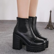 half boots newest in 2014 casual styles PF3179