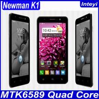 "New Arrival Original Newman K1 K1A Multi-language MTK6589 Quad-core1.2G Android 4.2 Dual-SIM 5.0""HD IPS 1GB RAM+4GB ROM In Stock"