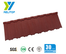 Relitop Main products- stone coated metal/steel roofing tiles