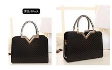 Stylish high quality leather woman hand bag and tote bag