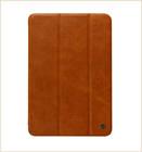Four corner protective leather compendium for ipad air case