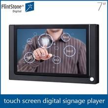 "Flintstone 7"" inch led screen transparent lcd showcase smart mirror touch screen monitor"