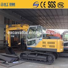 Design ultimi jg-95l 9t nuova dimensione escavatore cingolato per trattare