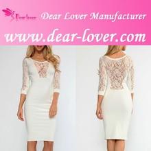 Cheap 2014 latest dress Lace Insert photos breast hot girls