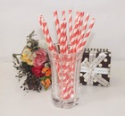 Bright-colored envirnmental straws for festival and party supplies