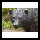 High quality bronze bear sculpture for garden decorative