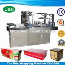 Heat sealing Automatic Box Cellophane Wrapping Machine
