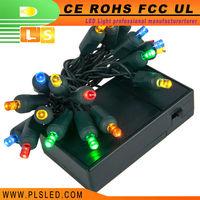 New Style decorative running led lights for chris, fiber optic christmas villa, hobby lobby christmas