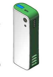 the Unique deodorizer Purifier with power bank