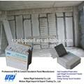 prefabbricazione muri di cemento pannello isolante del suono a sandwich parete interna rivestimenti