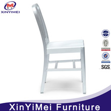 Cheap colorful painted aluminum navy chair for hot sell with great price