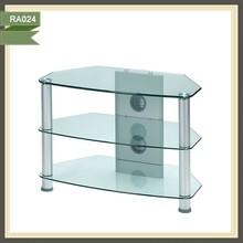 Tv cabinet round wall shelf round corner RA024