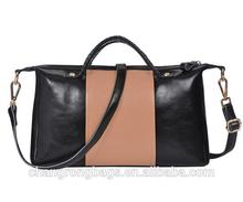 2014 fashion ladies genuine leather travel bags