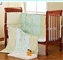 Patchwork baby comforter bumper kids beds