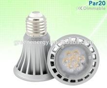 230V AC and 120V AC for option led lighting dimmable 8w Par20 led bulb light led spot light