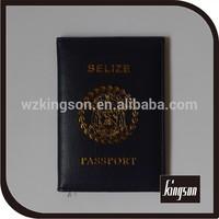 silk-screen printing pvc passport sleeve