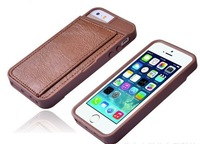 """Wholesale cheap price PU leather 4.7"""" custom mobile phone protective cover case"""