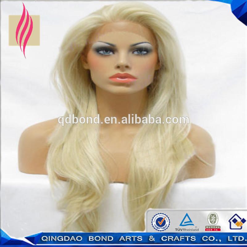 White Girl Human Hair Wigs 56