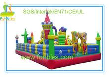 2014 newest Funbels spiderman inflatable playground slide