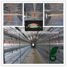 H type 4 tiers 96 birds chicken cage chicken house