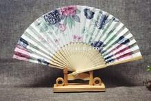 promotional Chinese hand fan bamboo fan customized
