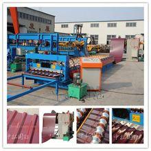 Industrial barrel corrugated roll forming machine